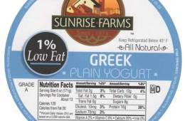 1% Greek Yogurt
