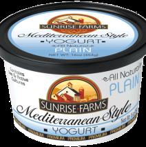 Mediterranean Style Plain Yogurt