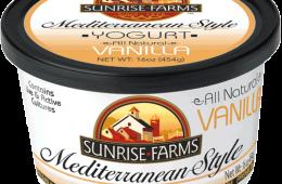 Mediterranean Style Vanilla Yogurt